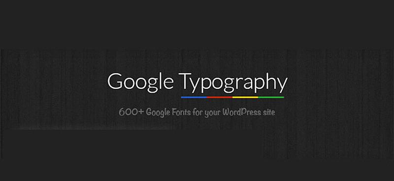 google-typography