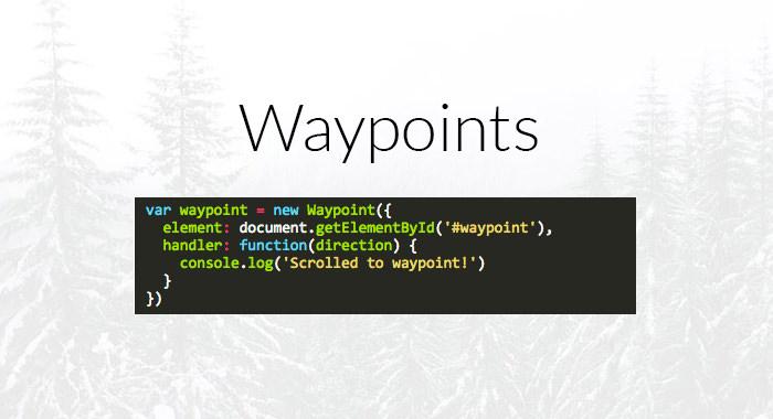sticky-waypoints