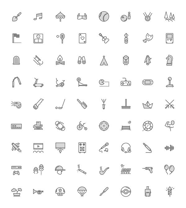 Filled-icons