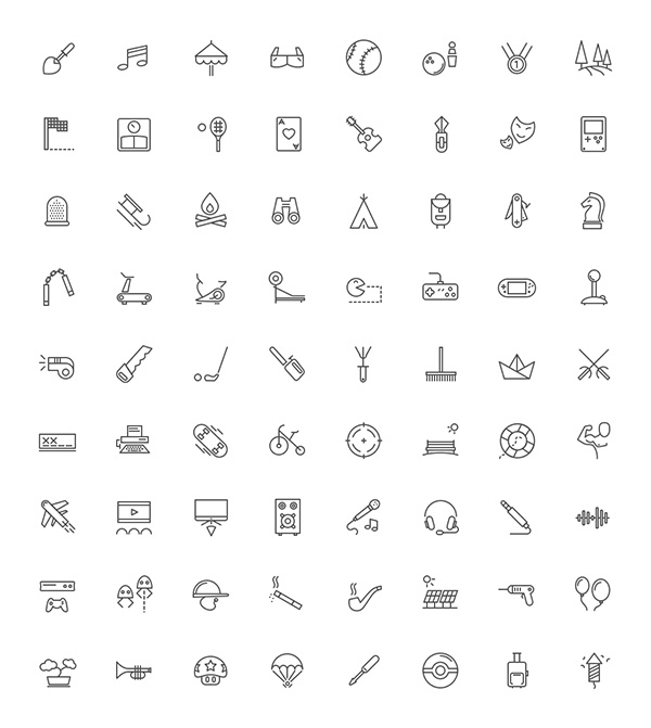 outlined-icons