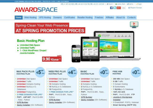 6-awardspace-wordpress-hosting